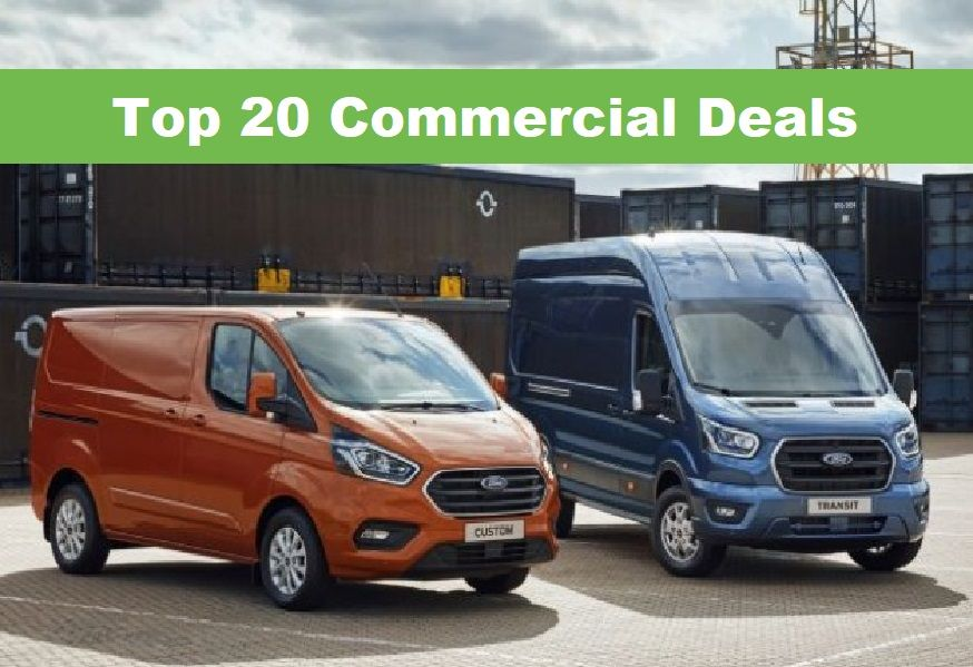 top 20 commercial car deals
