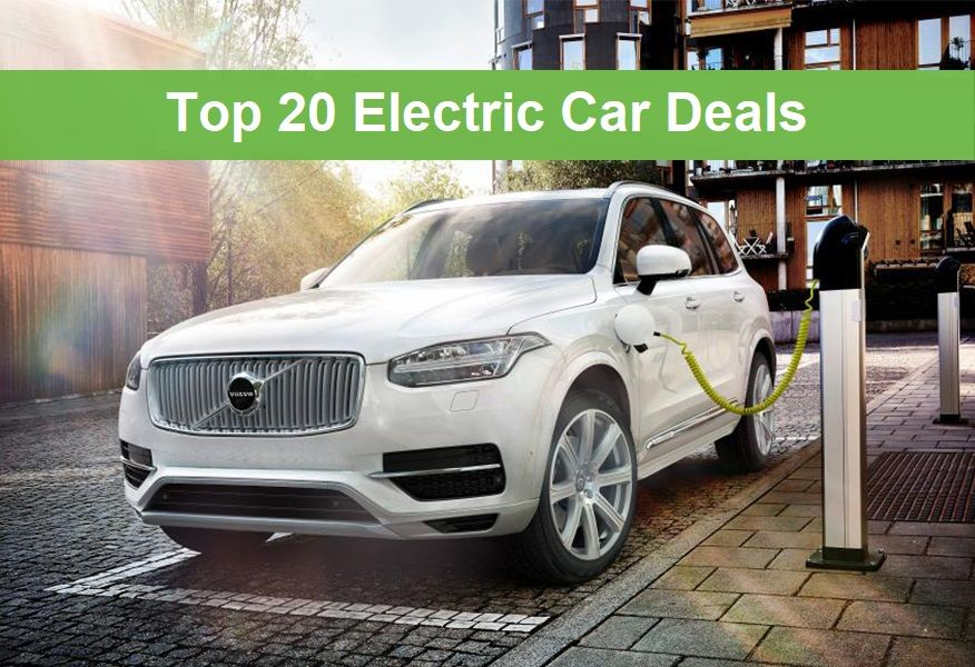top 20 electric car deals