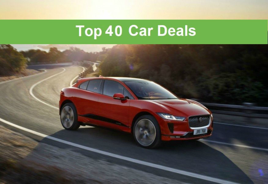 top 40 cars deals