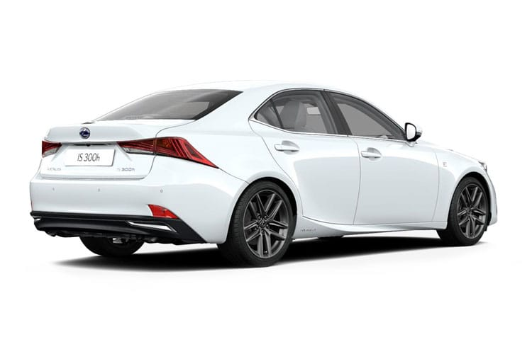 Lexus IS 300 Saloon 2.5 h 223PS IS 4Dr E-CVT [Start Stop] back view