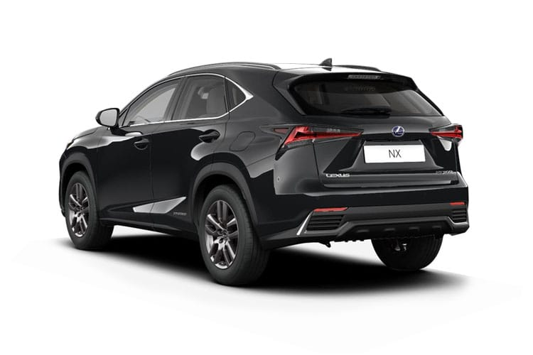Lexus NX 300h SUV 4wd 2.5 h 197PS F-Sport 5Dr E-CVT [Start Stop] [Takumi SRoof] back view