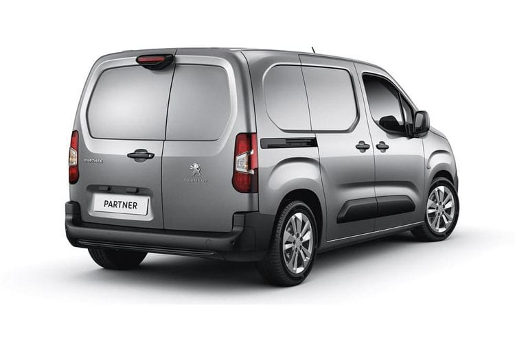 Peugeot Partner Standard 650Kg 1.5 BlueHDi FWD 75PS Professional Van Manual [Start Stop] back view