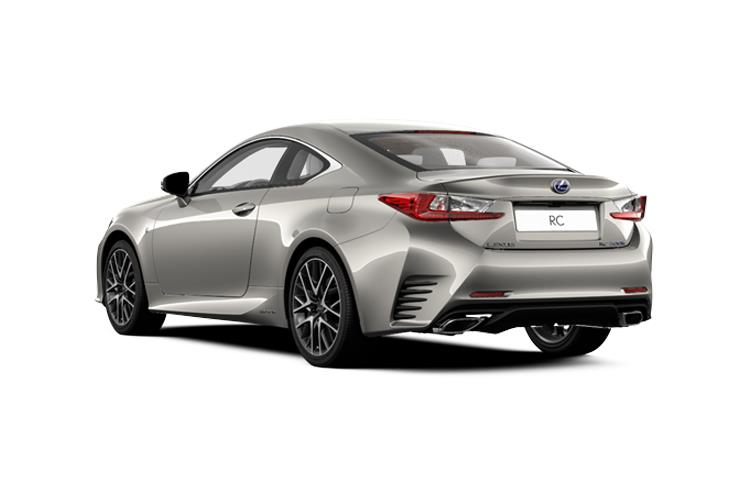 Lexus RC F Coupe 5.0 V8 463PS  2Dr Auto [SRoof] back view