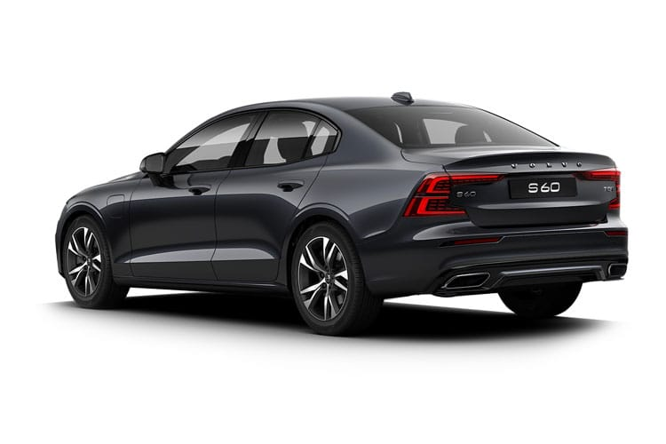 Volvo S60 Saloon 2.0 B5 MHEV 250PS R DESIGN 4Dr Auto [Start Stop] back view