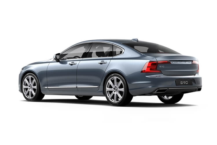 Volvo S90 Saloon AWD PiH 2.0 h T8 11.6kWh 390PS R DESIGN 4Dr Auto [Start Stop] back view