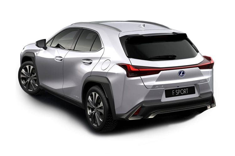 Lexus UX 250h SUV 2.0 h 184PS UX 5Dr E-CVT [Start Stop] [Prem Plus Tech Safety SRoof] back view
