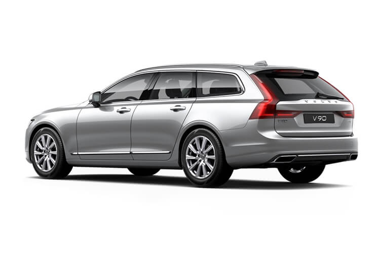 Volvo V90 Estate AWD 2.0 B6 MHEV 300PS R DESIGN 5Dr Auto [Start Stop] back view