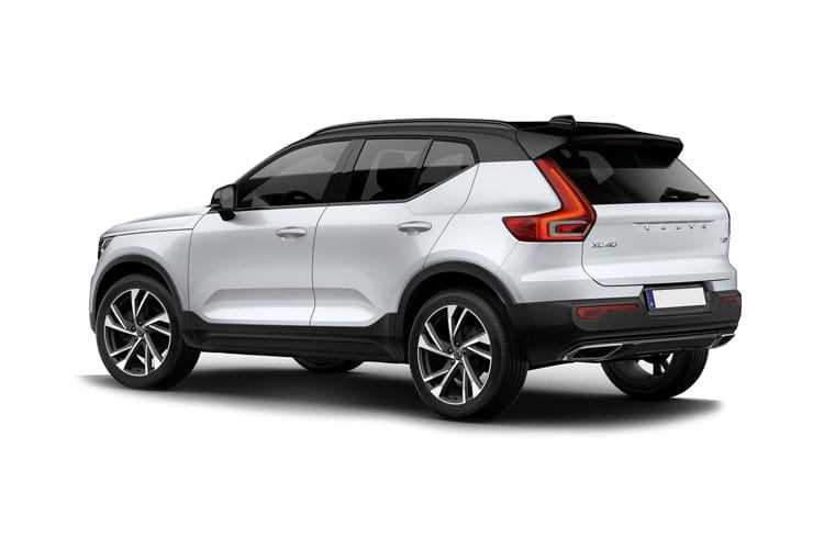 Volvo XC40 SUV AWD 2.0 B5 MHEV 250PS R DESIGN Pro 5Dr Auto [Start Stop] back view