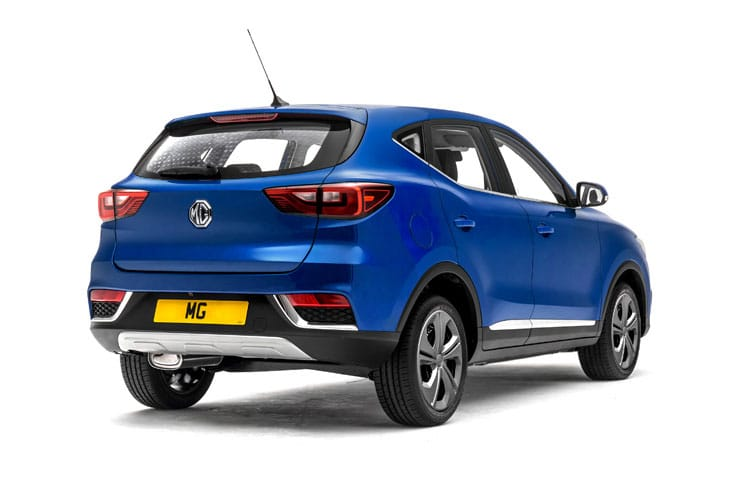 MG Motor UK MG ZS SUV Elec 44.5kWh 105KW 143PS Exclusive EV 5Dr Auto back view
