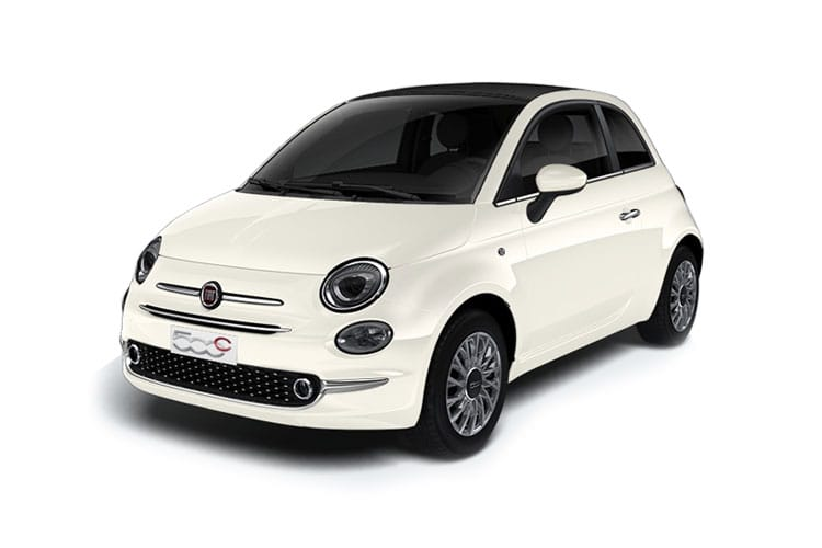 Fiat 500 C Convertible 1.0 MHEV 70PS Pop 2Dr Manual [Start Stop] front view