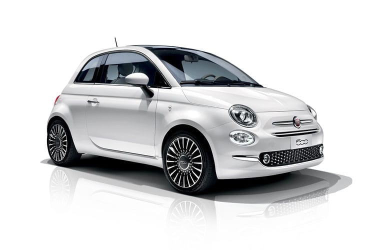 Fiat 500 Hatch 3Dr 1.0 MHEV 70PS Launch Edition 3Dr Manual [Start Stop] front view