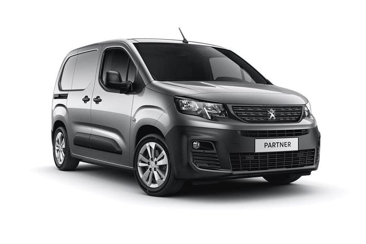 Peugeot Partner Standard 650Kg 1.5 BlueHDi FWD 75PS Professional Van Manual [Start Stop] front view