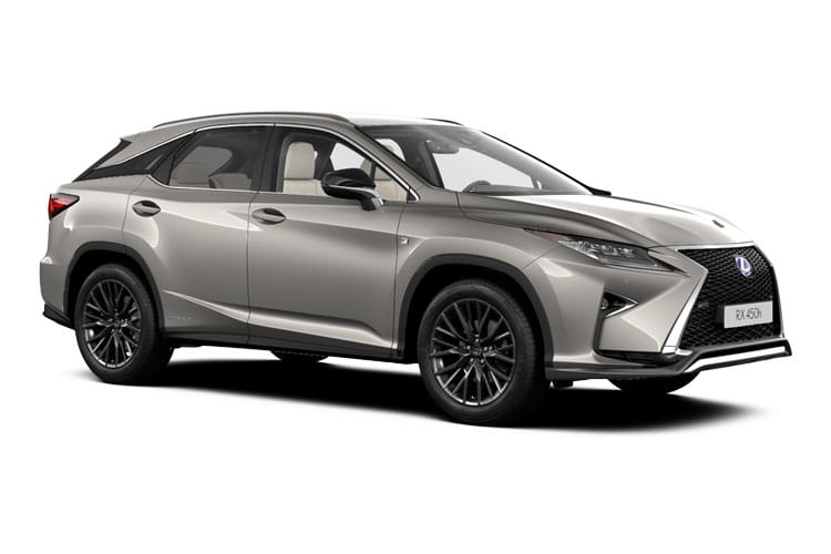 Lexus RX 450h L SUV 4wd 3.5 h V6 313PS RX L Prem 5Dr E-CVT [Start Stop] [Tech Safety] front view