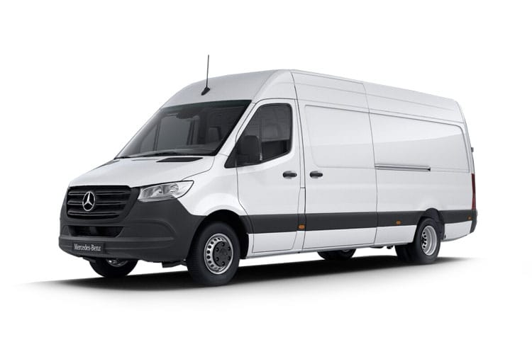 Mercedes-Benz Sprinter eSprinter L2 FWD Elec 55kWh 85KW FWD 116PS Progressive Van High Roof Auto [80kW Charger] front view