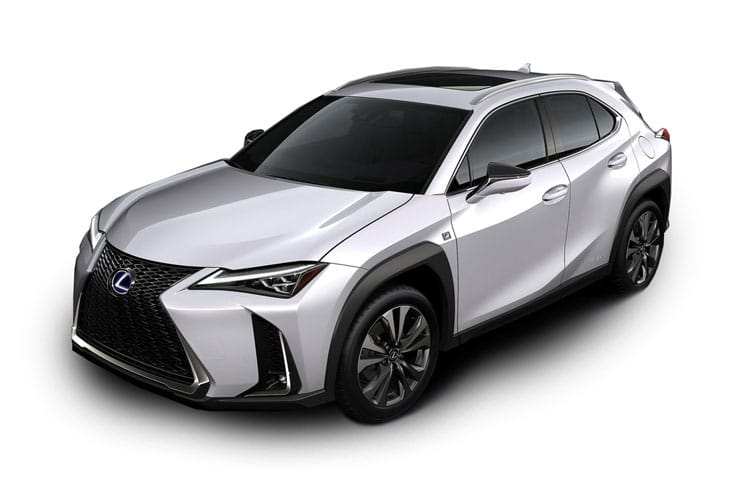 Lexus UX 250h SUV 2.0 h 184PS UX 5Dr E-CVT [Start Stop] [Prem Plus Tech Safety SRoof] front view