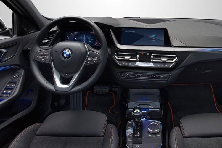 BMW 1 Series 116 Hatch 5Dr 1.5 d 116PS M Sport 5Dr DCT [Start Stop] [Tech Pro] inside view