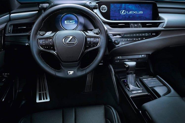 Lexus ES 300h Saloon 2.5 h 218PS ES Premium Edition 4Dr E-CVT [Start Stop] inside view