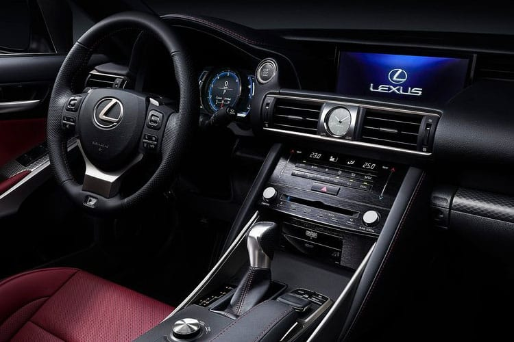 Lexus IS 300 Saloon 2.5 h 223PS IS 4Dr E-CVT [Start Stop] inside view