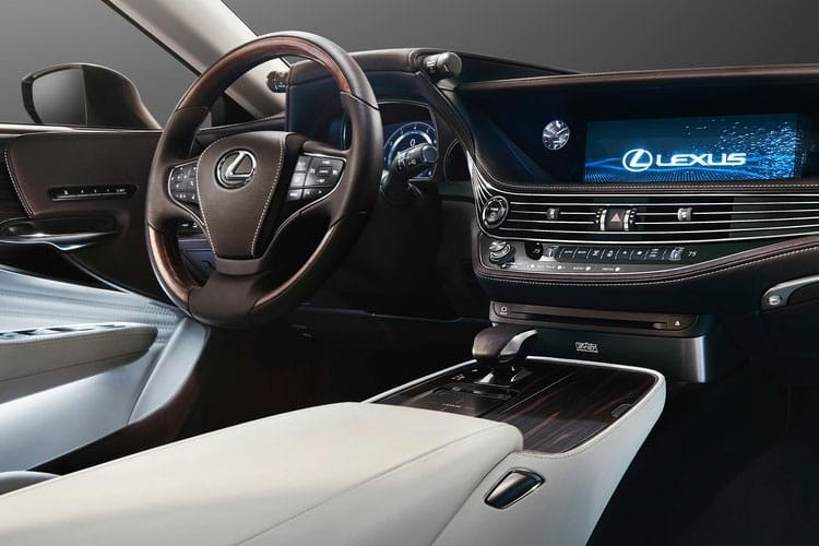 Lexus LS 500 Saloon 3.5 h V6 359PS F-Sport 4Dr E-CVT [Start Stop] inside view