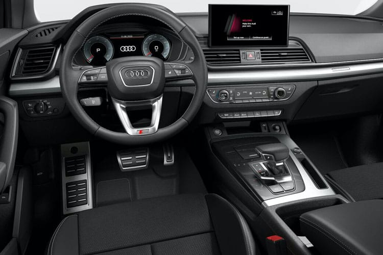 Audi Q5 40 SUV quattro 5Dr 2.0 TDI 204PS Sport 5Dr S Tronic [Start Stop] inside view