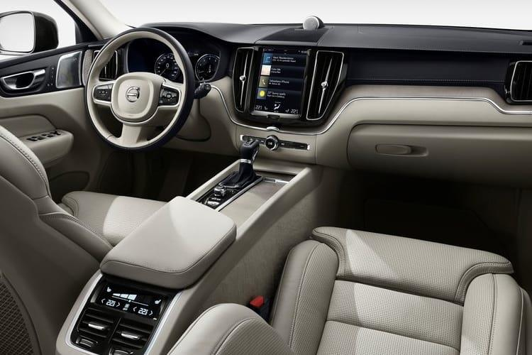 Volvo XC60 SUV AWD 2.0 B4 MHEV 197PS R DESIGN Pro 5Dr Auto [Start Stop] inside view
